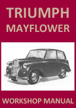 Triumph Mayflower Workshop Repair Manual