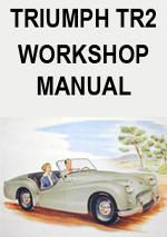 Triumph TR2 Workshop Manual