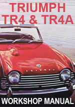 Triumph TR4 and TR4A Workshop Manual