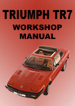 Triumph TR7 Workshop Manual